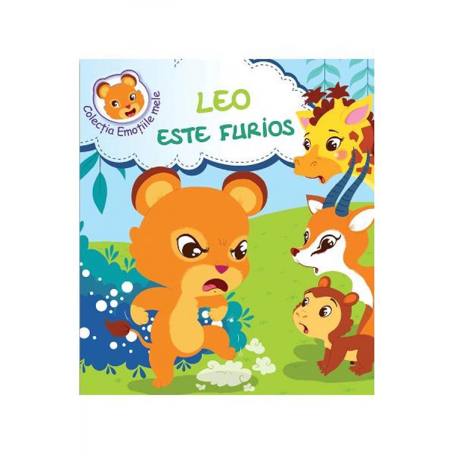 Leo este furios - Celine Lamour-Crochet, Sandrine Lamour