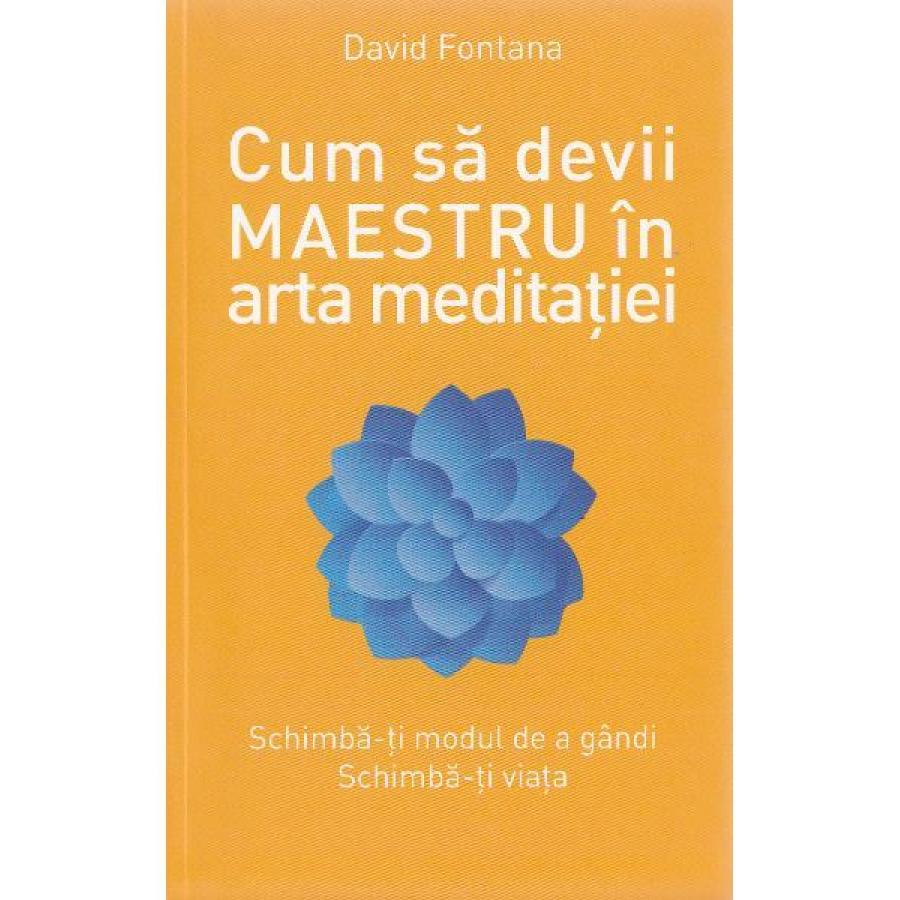 Cum să devii maestru în arta meditației -  David Fontana