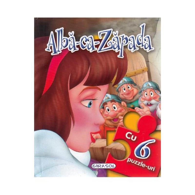Alba-ca-Zapada. Povesti cu 6 puzzle-uri