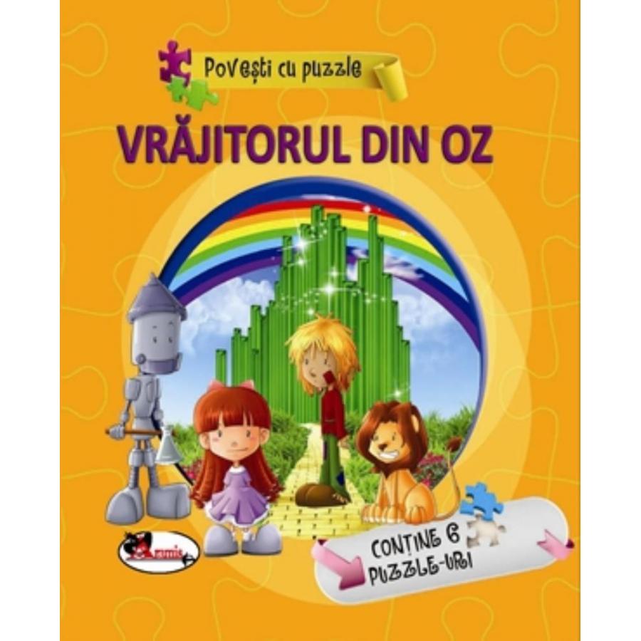 Povesti cu puzzle - Vrajitorul din Oz