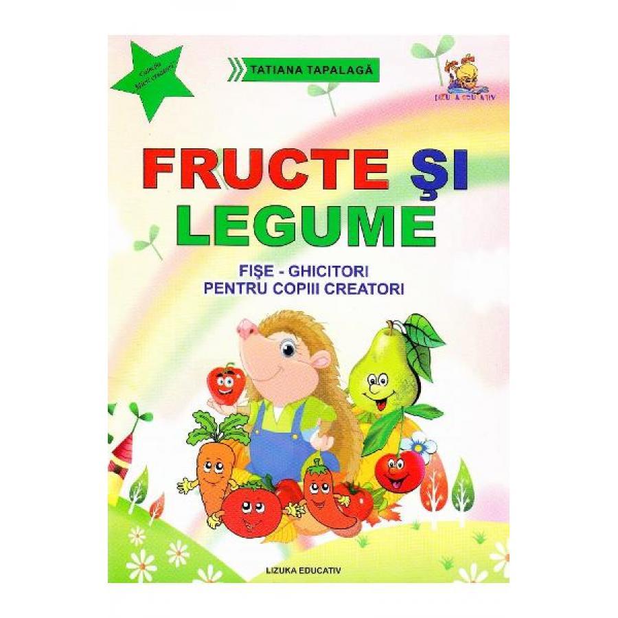 Fructe si legume. Fise-ghicitori