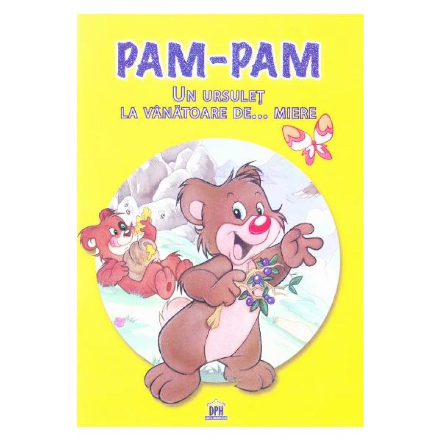 Pam-pam, un ursulet la vanatoare de miere