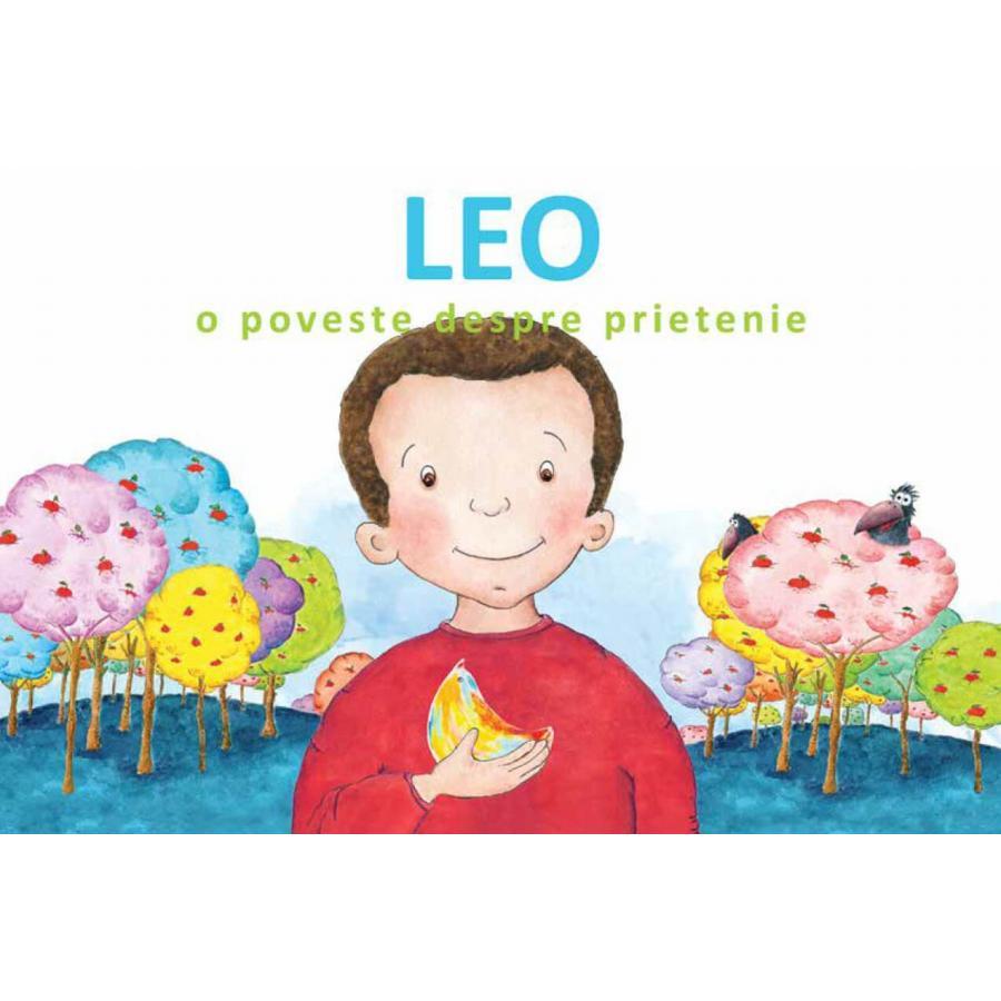 Leo. O poveste despre prietenie  -  Veronica Iani